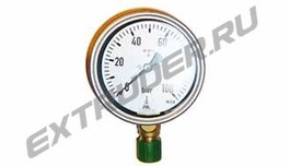 Manometer 100 bar Reinhardt Technik 40052700, HDT 3410012