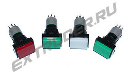 Illuminated pushbuttons and switches for Reinhardt Technik MAXI Pneumatik/Hydraulik, Lisec
