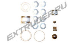 Sealing set for the B-metering pump for EMAR M106, MALNATI/NDS Technical/Negrini/NE/NP/ID 200LT