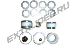 Sealing set for the B-metering pump for EMAR M107/NDS Technical/Negrini/ IDR 200X/IDR 500