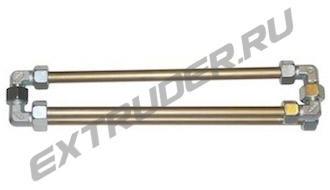 Trumpet mixer LUX 16S demountable, 3 spirals