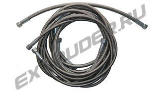 Тефлонизированные шланги ВД (PTFE) в металлической оплетке  HDT  - любые по запросу