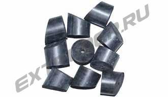 Резиновые насадки Ø50х50 мм