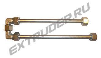 """Смеситель """"Lisec"""" 16S. 2 трубки, 2 спирали (стандартно 1 трубка х 300 мм, 1 трубка х 335 мм)"""