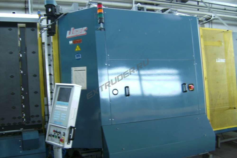 Inbetriebnahme der Isolierglaslinie Lisec