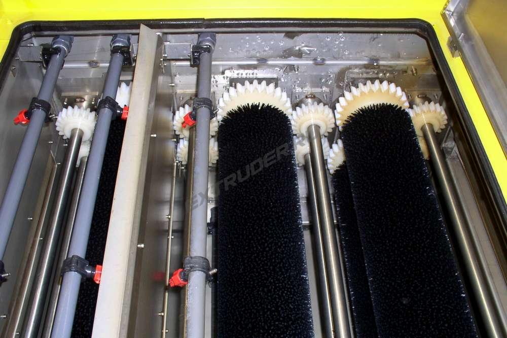 Maintenance of the washing machine Bystronic-Lenhardt