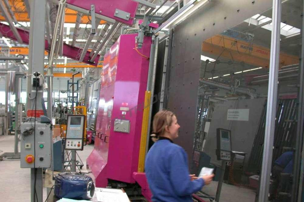 Обучение оператора на стеклопакетной линии Lisec