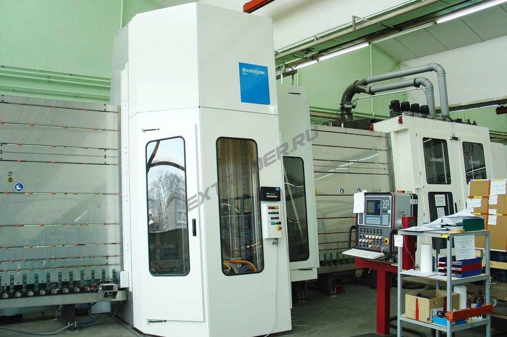 Bewertung eines vertikalen CNC-Centrums Bystronic first'arris