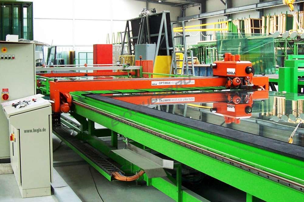 Bewertung einer Glasschneidelinie HEGLA Optimax