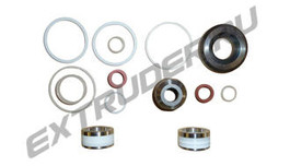 Sealing set for the B-feeding pump for EMAR M107/NDS Technical/Negrini/ IDR 200X/IDR 500, MALNATI NP200
