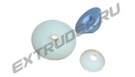 Bevelled wheels for insulation glass lines