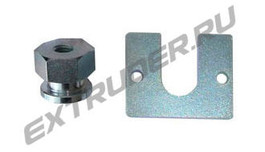 Nozzle adjustment rear Lisec 00025740 (00124233 and 00124232)