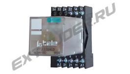 Relay Reinhardt Technik 53070000 with relay socket 53070100