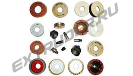 Machinery tools: grinding & polishing wheels, drills, cerium oxide, etc.