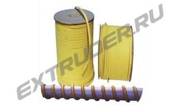 Kevlar rope for glass tempering furnaces