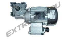 Motor with worm gearing Lisec 00320577