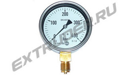 Manometer 400 bar Lisec 00003857