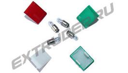 Plastic lens, filament lamps for Reinhardt Technik MAXI Pneumatik/Hydraulik, Lisec