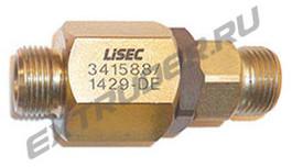 Straight swivel joint Lisec 341588, 455478, M20x1,5 (12S)