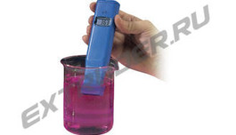Conductivity meter for the glass industry