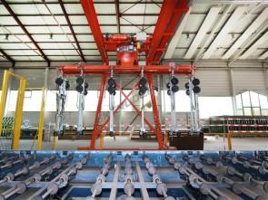 Crane system Bystronic