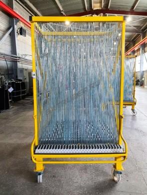 Glass sorting harp rack HEGLA