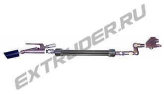 """Mischstrecke LUX, Mischer HDT """"Stabmix"""" 5100021 (420 mm), 5.100.011 (360 mm). 3 Spiralen"""