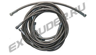 Teflonized (PTFE) high pressure braided hoses HDT