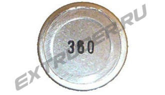 Rupture disc Reinhardt Technik 40182600, 360 bar