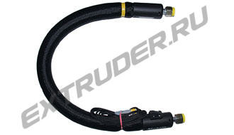 Heated high pressure hoses for hot melt, Reinhardt Technik, etc, for all Hot-Melt extruders